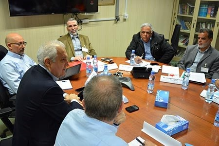 NOC Holds a Meeting with Eni North Africa and Mellitah Oil